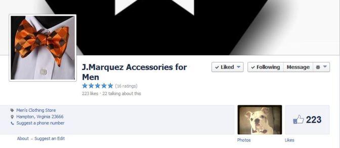 J. Marquez Accessories For Men by Jason Taylor